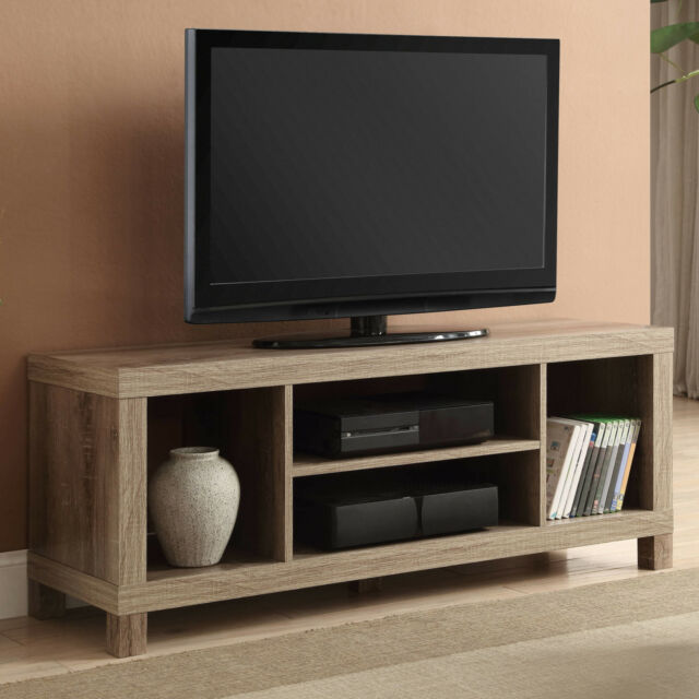 42 Inch TV Stand Entertainment Center Home Theater Media Storage Wood  Console