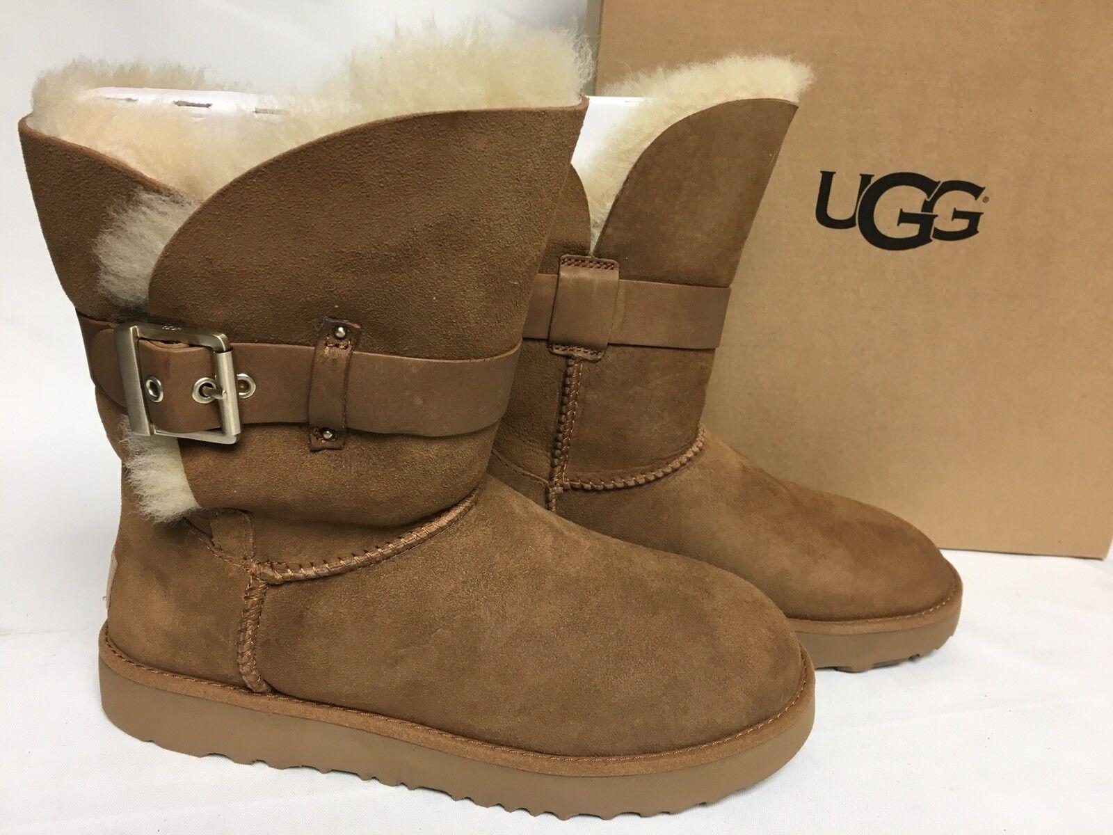 bf597533202 UGG Australia Jaylyn Chestnut Twinface Sheepskin BOOTS Shoes US 6 EUR 37 NWB