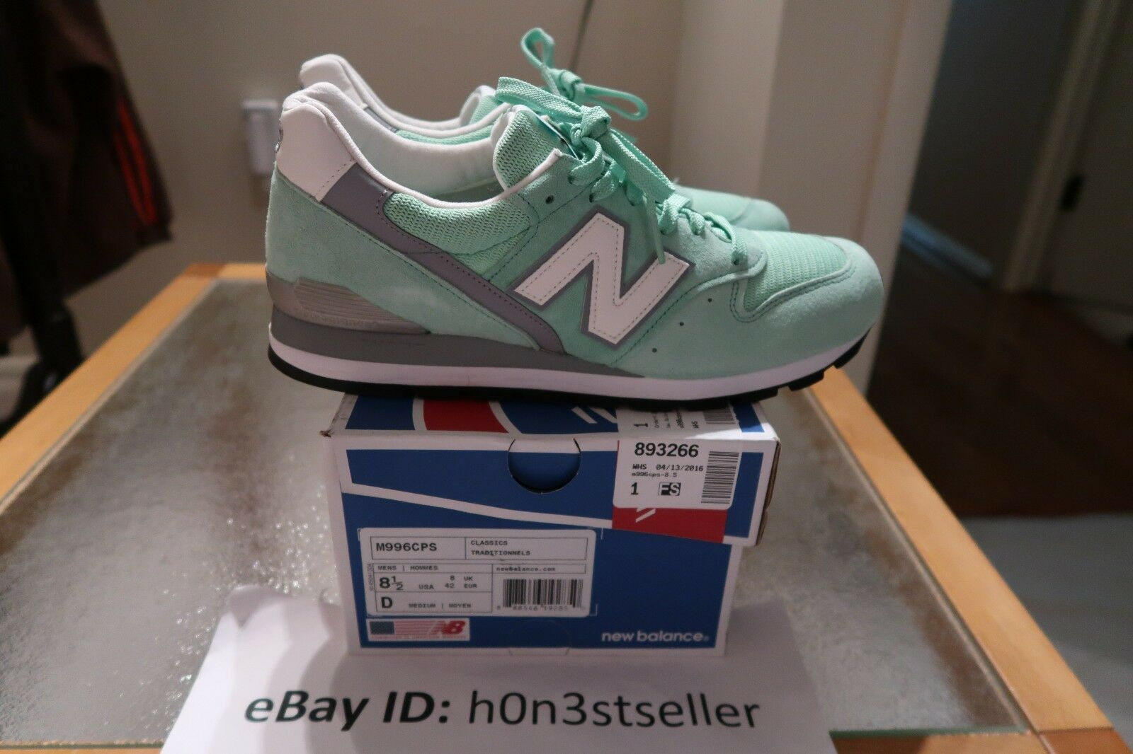 New Balance 996 'M996CPS' sneakers shoes   US Men's Size 8.5