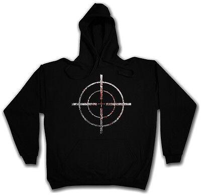 Kapuzenpullover Hoodie BLOODY CROSSHAIRS HOODED SWEAT Fadenkreuz Target Logo