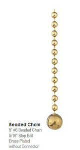 Connector Chain No 6 Brass