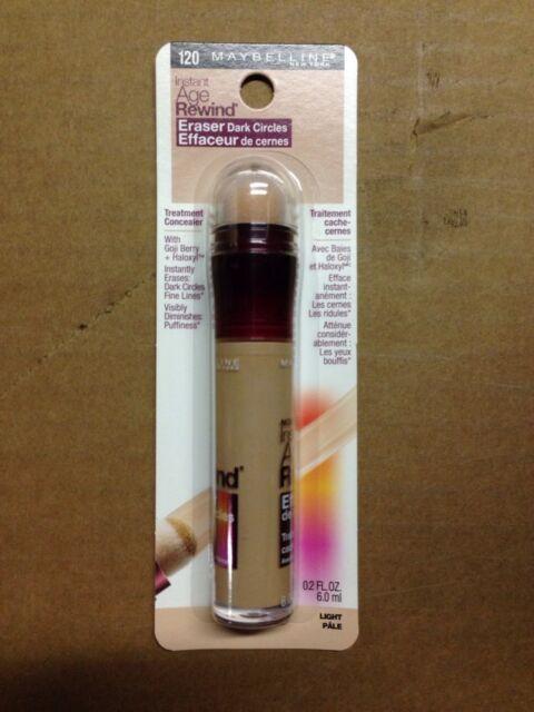 MAYBELLINE Instant Age Rewind Eraser Dark Circles Treatment Concealer 120 Light