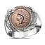Men-039-s-Buffalo-925-Silver-Animal-Band-Ring-Women-Wedding-Party-Jewelry-Size-6-13 thumbnail 42