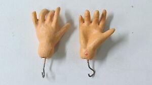 """Mains standard pour  poupées anciennes"""" STA 6"""" Antique doll hands Standard"""