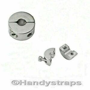 Stainless Steel Wire Rope 3mm 4mm 5mm 6mm Stopper Clamp 2 Grub Screws Ebay