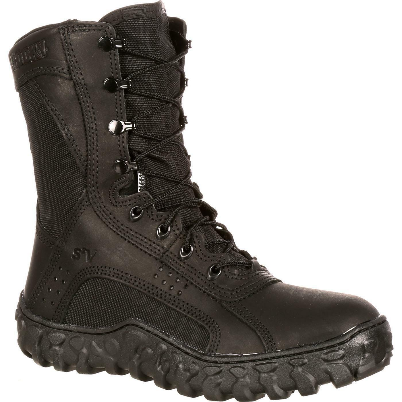 Rocky 102 S2V 8  US Made Berry Duty Compliant Tactical Military Duty Berry Combat Stiefel b2e326