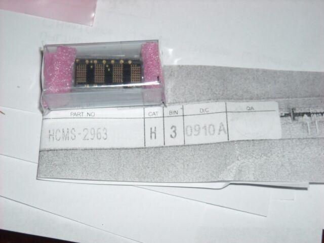 ROHS 28 PIECE LOT AVAGO LED 7-SEG 14.2MM CC GREEN RHD HDSP-5603