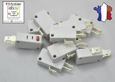 Lot de 10 microswitch officiel ZIPPY pour boutons - arcade- DIY - jamma -