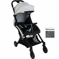 Red Kite Push Me Cube Stroller Buggy Lightweight Pushchair Steel Grey