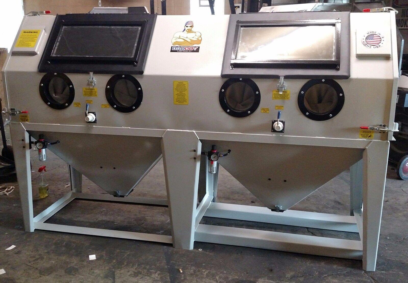Abrasive Sand Blast Blasting Cabinet Air Compressor Ebay