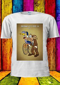 Road Runner & Coyote Elderly Old T-shirt Vest Tank Top Men ...