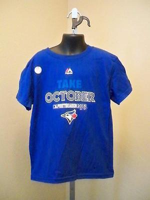 """Aufstrebend New-minor Flaw-blue Jays """" Take Oktober 5118cm Kinder Medium 5/6 Blue Shirt Bestellungen Sind Willkommen. Sport Weitere Ballsportarten"""
