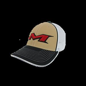 7 3//8-8 Miken Hat by Pacific 404M Blackout Script LG//XL new