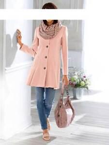44 Winter Jacke Tesini 42 Gr Linea Mantel Wollmantel Wolle Designer Rose vddYXq