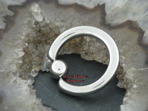 GROßER Ball Closure Ring Piercing Ohrring Creolen Brustpiercing Intimpiercing