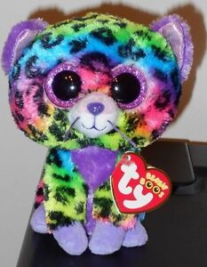 Ty Beanie Boo's ~ TRIXIE the Leopard (6 Inch)(2014 Justice Exclusive) NEW MWMT