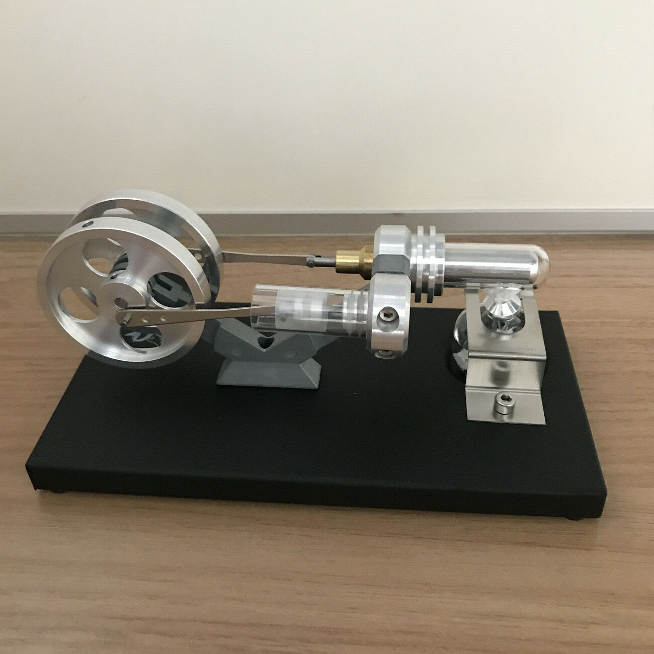 Mini Hot Air Stirling Engine Model Toy Micro Power Generator Engine Motor Gift
