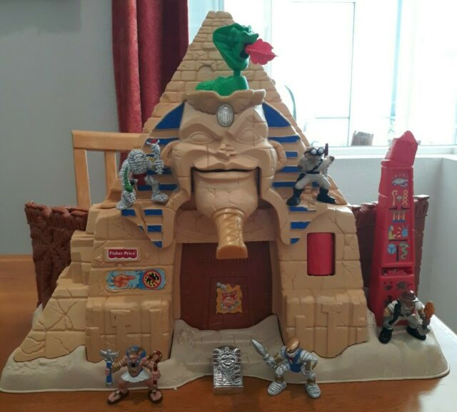 2000 Fisher Price Mattel HIDDEN TREASURES PYRAMID Only the