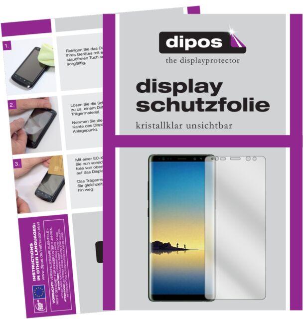 3+3x Samsung Galaxy Note 8 Protector de Pantalla protectores transparente dipos