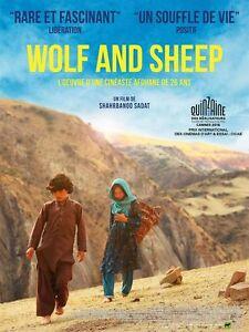 Affiche-120x160cm-WOLF-AND-SHEEP-2016-Sediqa-Rasuli-Qodratollah-Qadiri-NEUVE