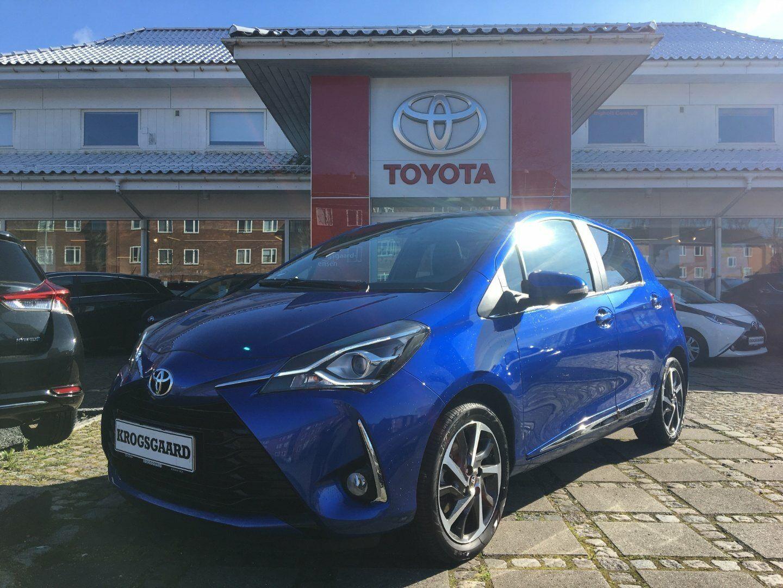 Toyota Yaris 1,5 VVT-iE T4 5d - 189.900 kr.
