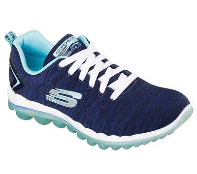 12109 W Navy Wide Fit Skechers Shoes Memory Foam Women Sport Air Cushion Comfort