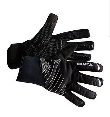 Craft Sportswear Storm Windproof /& Waterproof Bike Cycling Fleece Lined Gloves