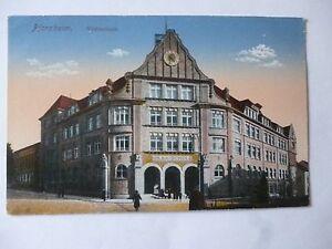 Ansichtskarte Pforzheim Hildaschule 196