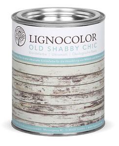lignocolor kreidefarbe shabby chic holz m bellack. Black Bedroom Furniture Sets. Home Design Ideas
