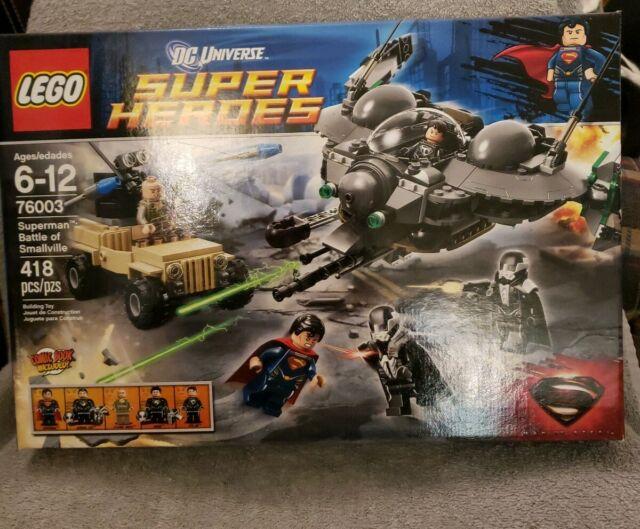 BATTLE OF SMALLVILLE *NIB GREAT GIFT!!! 2013 LEGO SUPER HEROES 76003 SUPERMAN