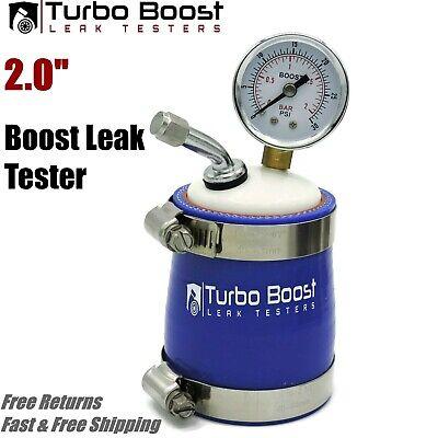 "FREE SHIPPING 2/"" inch TURBO BOOST LEAK PRESSURE TESTER BILLET ALUMINUM 2.0/"""