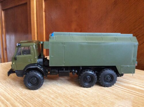 KAMAZ 4310  KUNG awning military truck 1:43 USSR car ELECON
