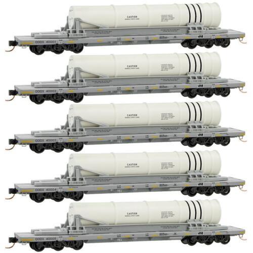 68/' Flat Car 6 Axle Booster Rocket Load Navy Dept of Defense MTL 993 01 640 N
