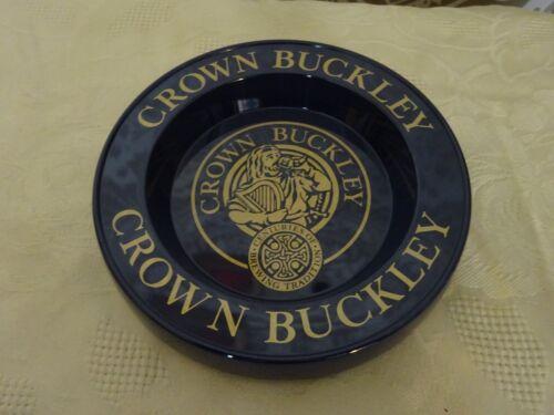 Vintage retro Melamine Pub advertising Ashtray Crown Buckley NEW Unused
