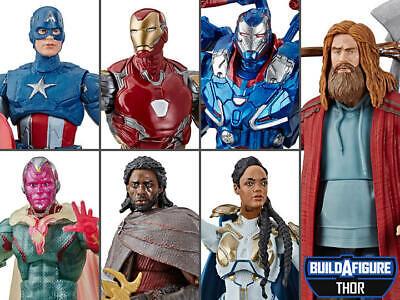 Hasbro Marvel leggende Avengers mossa finale con THANOS BAF 6 Pollici Figura