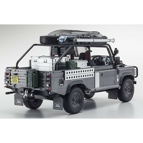 Land Rover Defender Movie Edition Corris gris 1 18 Kyosho