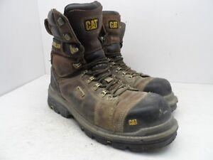 Wp Brown BreedComp P717629 Caterpillar Size herenvlieger P717629 Werkschoen Bruin Boot Grootte Toe Wide Wp 8 5 inch Toe Comp 5 9 Work 9 vNOmn80w