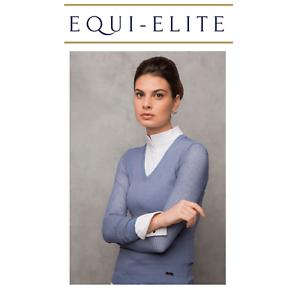 Horseware AA Platinum Ladies Slim Fit Sweater with Perforated Sleeves