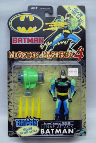 Batman Animated Series Mission Masters 4 Lunar Attack Batman Hasbro NIP S1176
