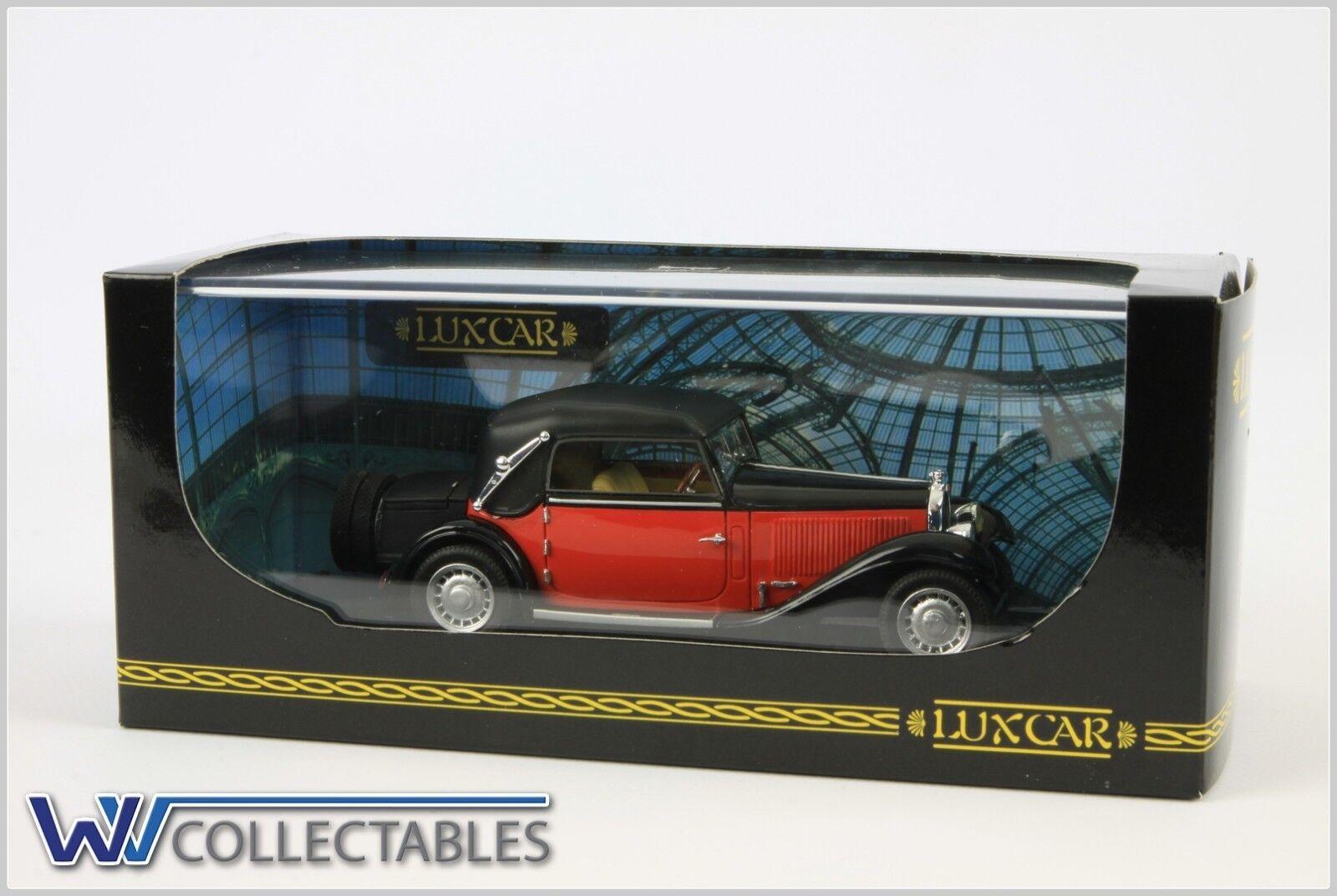 Luxcar bugatti 49 cabriolet 1934 472   500 009b 1 43