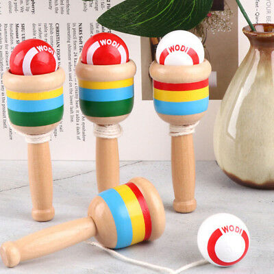 Cup Toys and Wooden Ball Catch Skill Game Kids Hand Eye Coordination Games Gifts