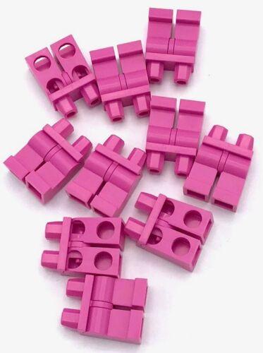 Lego 10 New Dark Pink Plain Legs Female Minifigure Girl Friends Pants