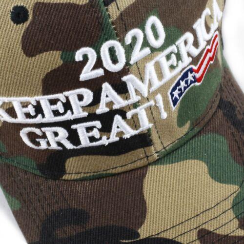 The Hat Depot Exclusive Keep America Great Cap Trump 2020 Woodland Camo