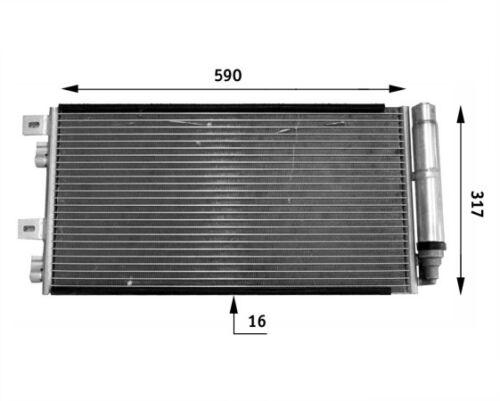 For Mini R52 R53 R55 R56 A//C Condenser 351300641 Behr Hella Service