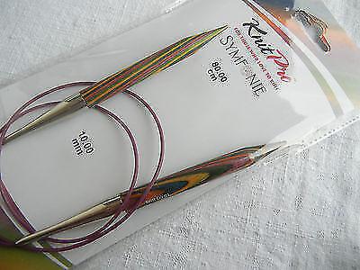 KnitPro Rundstricknadel Basix Birch 15,00 mm 150 cm