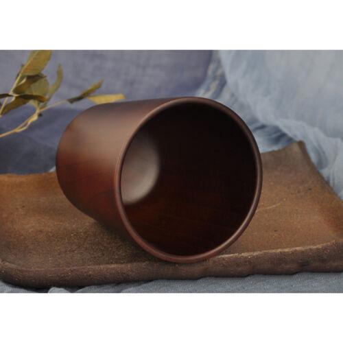 tasse de thé en bois naturel tasse de thé chinois lait café cérémonie