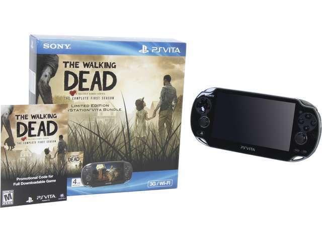 PlayStation Vita The Walking Dead Bundle