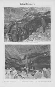 Clés de 1897 mines kalisalz minière mine Kali-u Salzbergwerk Kaliafficher le titre d`origine 0SuFSFq6-07185342-525040419