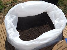 15 LB Organic Red Worm Castings Microbial Charged Vermicompost Supersoil
