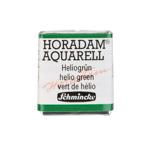 Schmincke HORADAM Aquarell Heliogruen Aquarell  14 514 044 1//2 Naepfchen